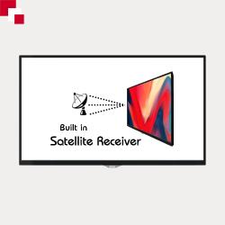 Built-In Satellite Receiver